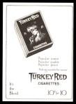 T3 Turkey Red Reprint #102  Johnny Kling  Back Thumbnail