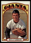 1972 Topps #643  Russ Gibson  Front Thumbnail