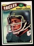 1977 Topps #498  Randy Logan  Front Thumbnail