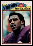 1977 Topps #419  Brent McClanahan  Front Thumbnail