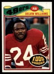 1977 Topps #425  Delvin Williams  Front Thumbnail