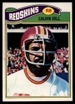 1977 Topps #429  Calvin Hill  Front Thumbnail