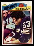 1977 Topps #291  Mick Tingelhoff  Front Thumbnail