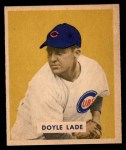1949 Bowman #168  Doyle Lade  Front Thumbnail