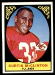 1967 Topps #64  Curtis McClinton  Front Thumbnail