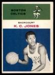 1961 Fleer #22  KC Jones  Front Thumbnail