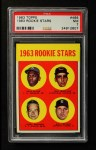 1963 Topps #466   -  Bill Freehan / Tony Martinez / Nate Oliver / Jerry Robinson Rookies  Front Thumbnail