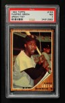 1962 Topps #153 GRN Pumpsie Green  Front Thumbnail