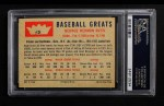 1960 Fleer #3  Babe Ruth  Back Thumbnail
