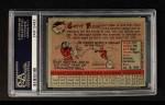 1958 Topps #464  Curt Flood  Back Thumbnail