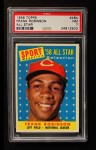 1958 Topps #484   -  Frank Robinson All-Star Front Thumbnail