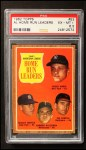 1962 Topps #53   -  Mickey Mantle / Roger Maris / Harmon Killebrew / Jim Gentile AL HR Leaders Front Thumbnail