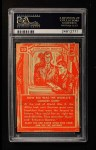 1957 Topps Isolation Booth #10   World's Largest Gun Back Thumbnail