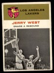 1961 Fleer #66   -  Jerry West In Action Front Thumbnail