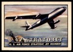 1952 Topps Wings #61   B-47 Stratojet Front Thumbnail
