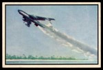1954 Bowman Power for Peace #7   Stratojet Take-off Front Thumbnail