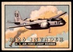 1952 Topps Wings #8   B-26 Invader Front Thumbnail