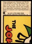 1966 Topps Batman Red Bat #25 RED  In the Bat Lab Back Thumbnail