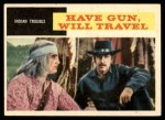 1958 Topps TV Westerns #32   Indian Trouble  Front Thumbnail