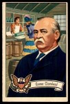 1952 Bowman U.S. Presidents #25  Grover Cleveland  Front Thumbnail