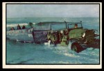 1954 Bowman Power for Peace #26   New Amphibian Assault Vehicle Front Thumbnail