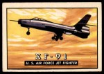 1952 Topps Wings #9   XF-91 Front Thumbnail