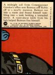 1966 Topps Batman Red Bat #8 RED  Tentacled Terror Back Thumbnail