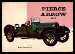 1954 Topps World on Wheels #64   Pierce-Arrow Raceabout 1916 Front Thumbnail