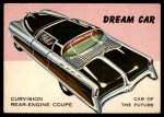 1954 Topps World on Wheels #58   Curvision Rear Engine Coupe Front Thumbnail