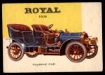 1954 Topps World on Wheels #156   Royal Touring Car Front Thumbnail