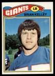 1977 Topps #414  Brian Kelley  Front Thumbnail