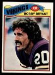 1977 Topps #521  Bobby Bryant  Front Thumbnail