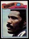 1977 Topps #405  Joe Greene  Front Thumbnail