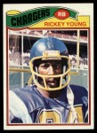 1977 Topps #384  Rickey Young  Front Thumbnail