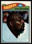 1977 Topps #494  Otis Sistrunk  Front Thumbnail