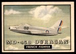 1952 Topps Wings #104   MD-450 Ouragan Front Thumbnail