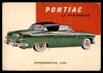 1954 Topps World on Wheels #100   Pontiac Parisienne Front Thumbnail