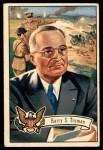 1952 Bowman U.S. Presidents #35  Harry S Truman   Front Thumbnail