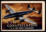 1952 Topps Wings #31   C-121 Constellation Front Thumbnail