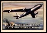 1952 Topps Wings #61   B-47 Stratojet Front Thumbnail