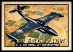 1952 Topps Wings #90   F-89 Scorpion Front Thumbnail