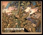 1941 Gum Inc. War Gum #36   MacArthur's Men Beat Off Japanese Front Thumbnail