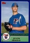 2003 Topps Traded #160 T  -  Jason Arnold Prospect Front Thumbnail