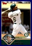 2003 Topps Traded #111 T Jose Guillen  Front Thumbnail