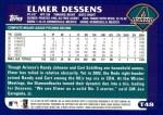 2003 Topps Traded #48 T Elmer Dessens  Back Thumbnail