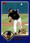 2003 Topps Traded #195 T  -  Stephen Randolph First Year Front Thumbnail