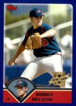2003 Topps Traded #179 T  -  Bubba Nelson First Year Front Thumbnail