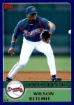 2003 Topps Traded #133 T  -  Wilson Betemit Prospect Front Thumbnail
