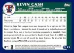 2003 Topps Traded #123 T  -  Kevin Cash Prospect Back Thumbnail