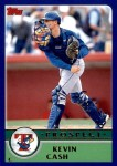 2003 Topps Traded #123 T  -  Kevin Cash Prospect Front Thumbnail